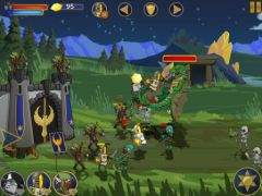 free iPhone app Legendary Wars HD