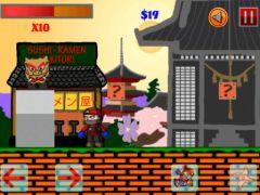 free iPhone app Super Sushi Ninja