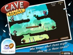 free iPhone app Cave Bowling
