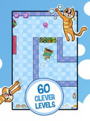 free iPhone app Smelly Cat - A Pet Love Story
