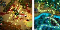 free iPhone app Zombie Minesweeper