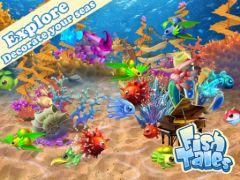 free iPhone app Fish Tales