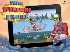 free iPhone app Super Dynamite Fishing