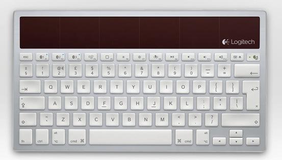 logitech k760 un clavier sans fil solaire compatible ipad pour concurrencer le clavier. Black Bedroom Furniture Sets. Home Design Ideas