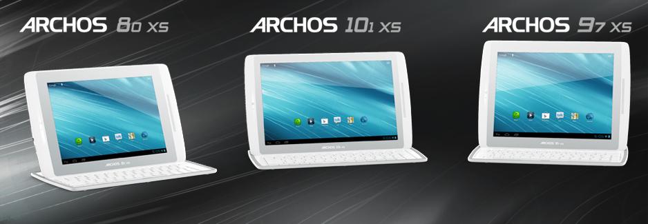 archos a pr sent sa tablette 10 pouces gen 10xs avec un capot clavier ipad air et pro blog. Black Bedroom Furniture Sets. Home Design Ideas