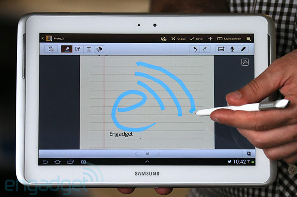 samsung a pr sent sa tablette stylet galaxy note 10 1. Black Bedroom Furniture Sets. Home Design Ideas