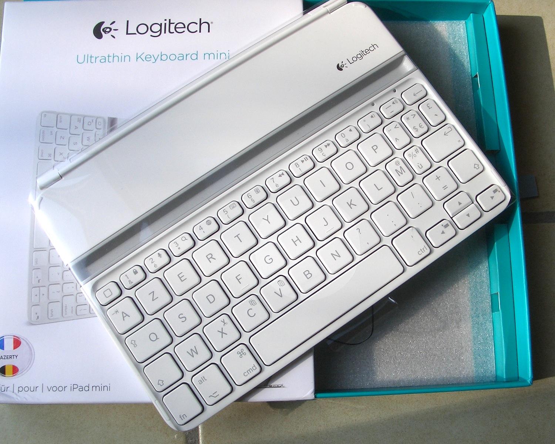 test du clavier ipad mini ultrathin keyboard de logitech. Black Bedroom Furniture Sets. Home Design Ideas