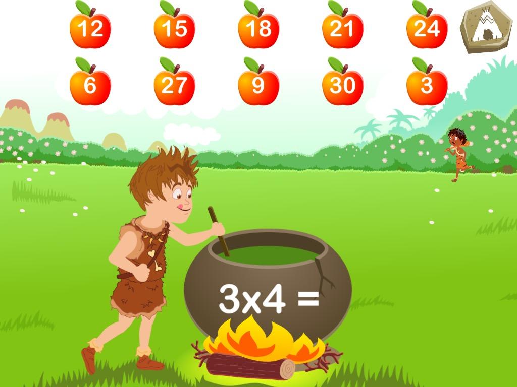 Appli ipad et iphone pour enfants les tables de for Multiplication pour enfant