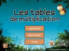 App ipad pour enfants on r vise ses tables de for Connaitre ses tables de multiplication