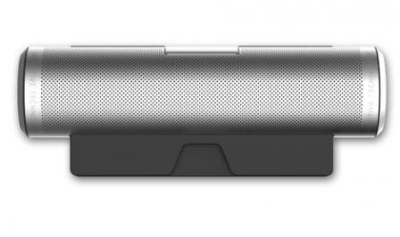 sound cylinder une enceinte st r o portable bluetooth. Black Bedroom Furniture Sets. Home Design Ideas