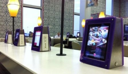 delta iPad restaurants