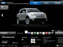 Showcase appli Ford