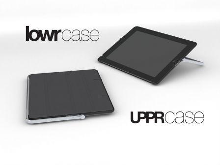 upprcase et lowrcase deux combin s protection support transport pour ipad vid o ipad air et. Black Bedroom Furniture Sets. Home Design Ideas