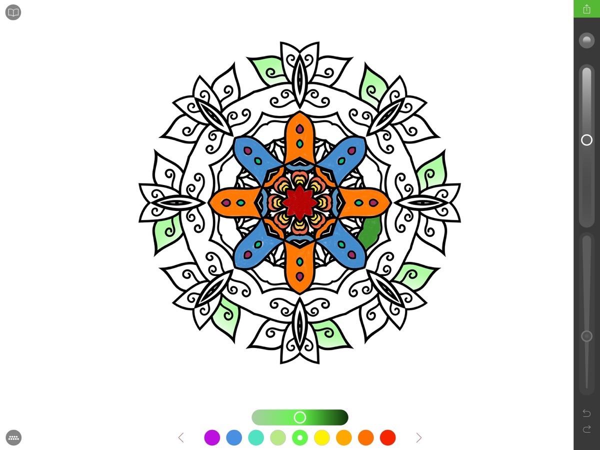 Coloring Pages For Ipad Mini : L ipad pro mais pas que voil� un livre de coloriage au