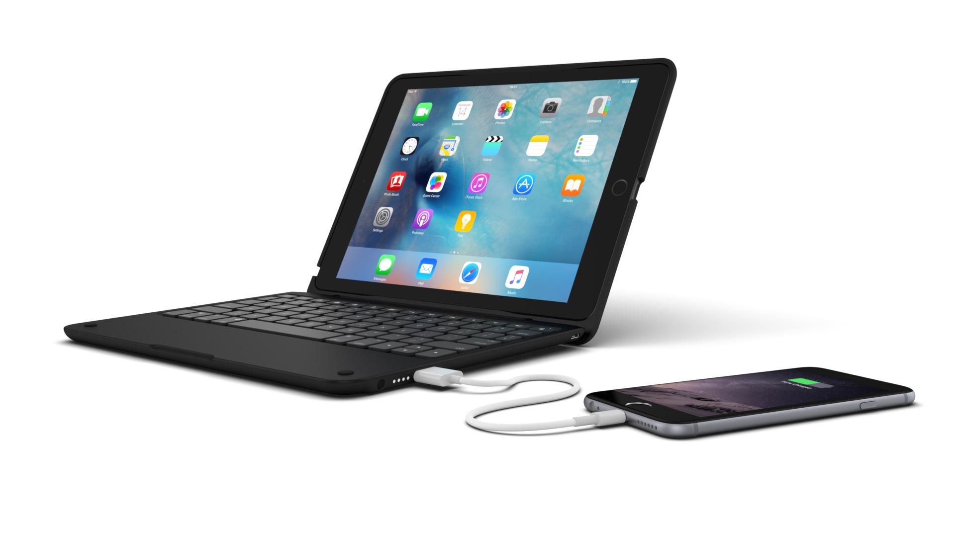 incipio lance de nouveaux claviers pour transformer l 39 ipad en macbook clavier r tro clair. Black Bedroom Furniture Sets. Home Design Ideas