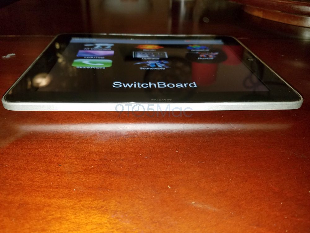 En attendant un nouvel iPad 10,5 pouces, voici un prototype du 1er modèle ! - iPad Air et Pro ...
