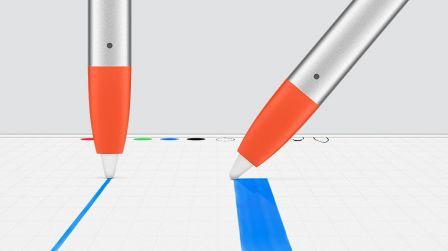 logitech lance son stylet ipad crayon moins cher que l 39 apple pencil mais de vraies. Black Bedroom Furniture Sets. Home Design Ideas