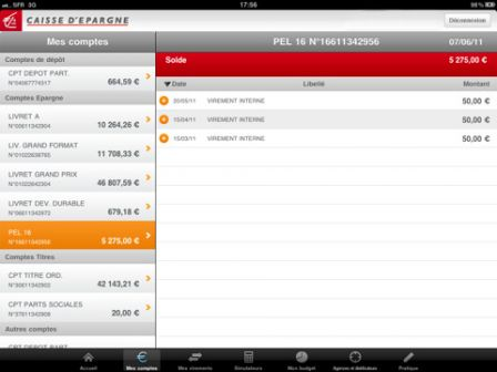 La Caisse D Epargne Propose Son Application En Version Ipad Ipad
