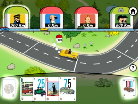 les aventures de tintin mille bornes tintin sur ipod touch iphone ipad. Black Bedroom Furniture Sets. Home Design Ideas
