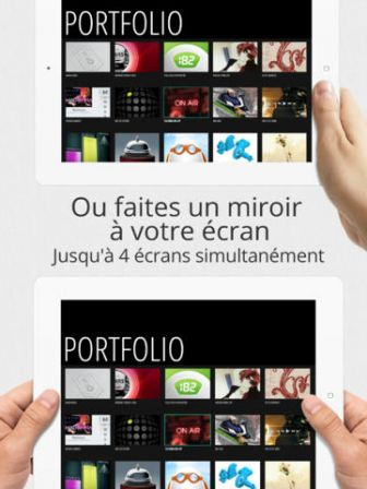 Air display 2 plusieurs ipad utilis s comme crans for Application miroir ordinateur