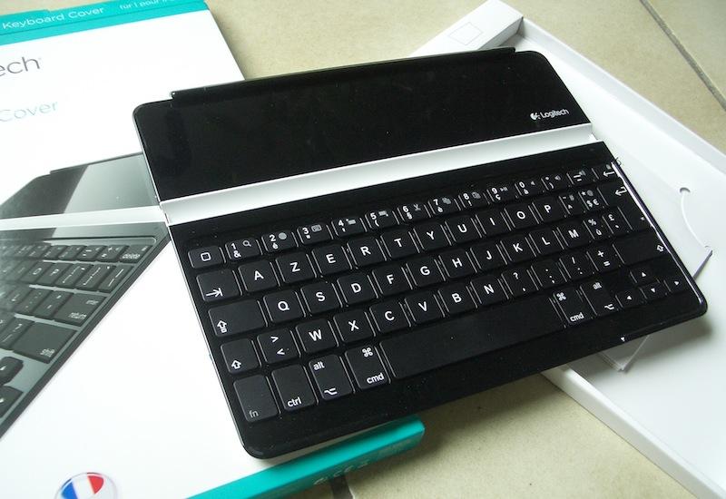 le clavier ultrathin logitech pour ipad en vente flash. Black Bedroom Furniture Sets. Home Design Ideas